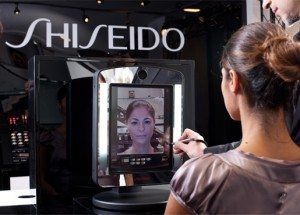 Shiseido Real Time Makeup Simulator