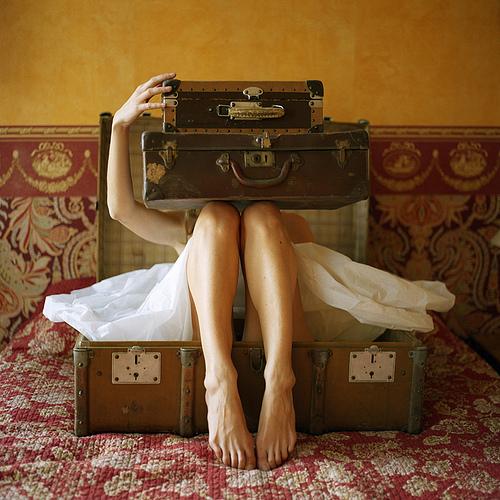 vintage treasures luggage