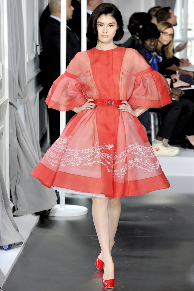 Haute Couture Collection from Christian Dior 2012 ...