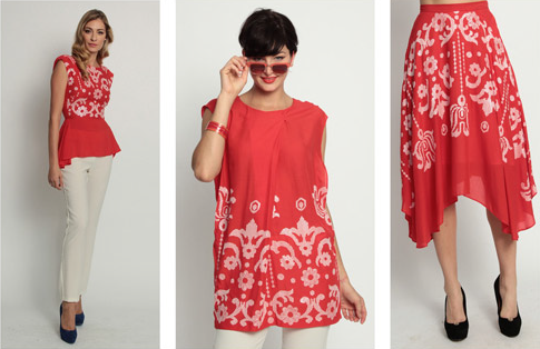 Eva Franco Dresses. Spring 2012 collection.