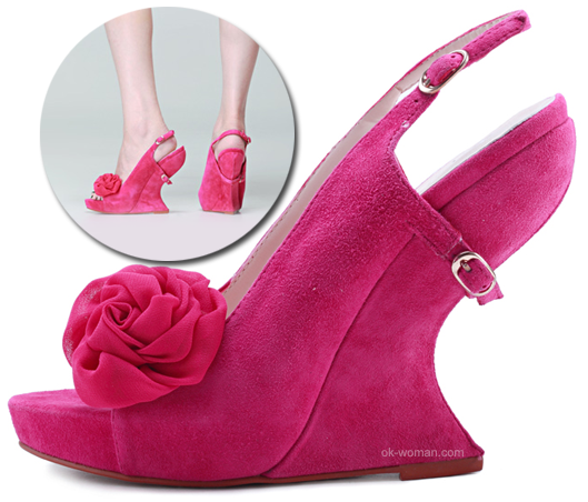 Shoes for women. Spring / Summer 2012. Fashion trends 2012