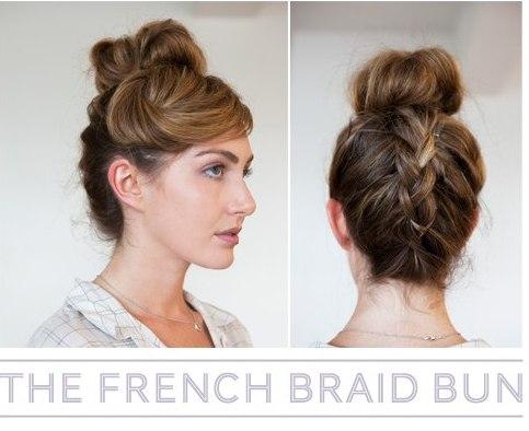 How to make French Braid Bun