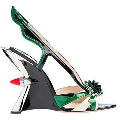 Womens shoes 2012 Prada shoe collection for Spring Summer 2012 Shoes for women. Spring / Summer 2012. Fashion trends 2012