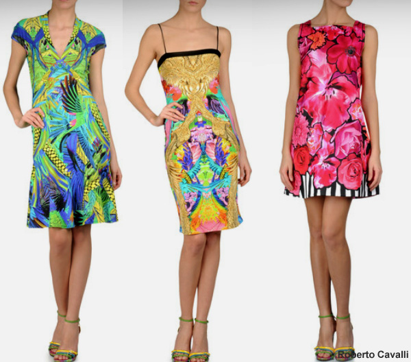 Print Mania. Print dress Spring Summer 2012. Women's clothes