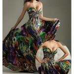 Floral print dress Spring Summer 2012