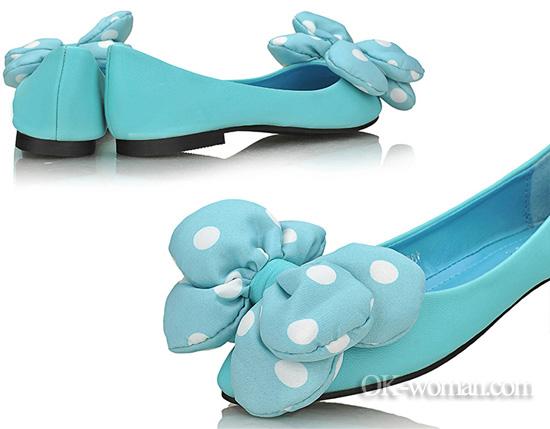 Ballet flats for women. Shoes for women. Spring/Summer 2012