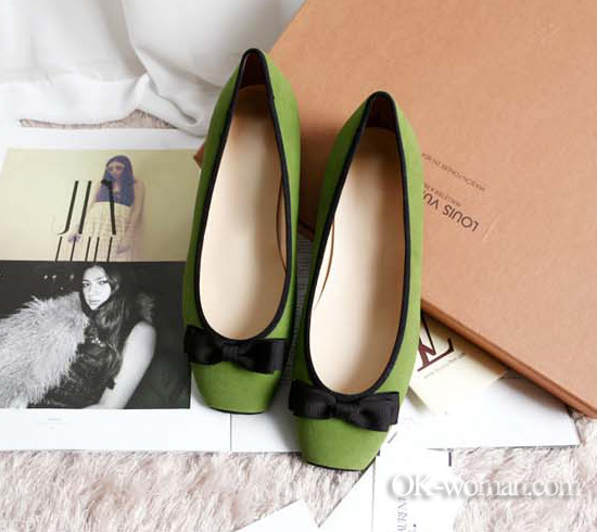 Ballet flats for women. Shoes for women. Spring/Summer 2012