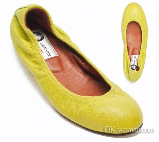 Lanvin ballet flats. Ballet flats for women. Shoes 2012 women. Spring summer