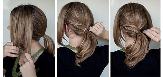 cute ponytail ideas