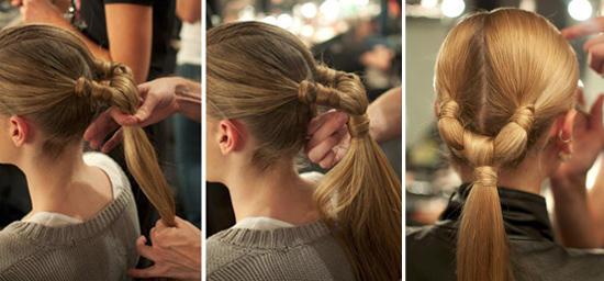 Stylish cute ponytails ideas for medium to long hair