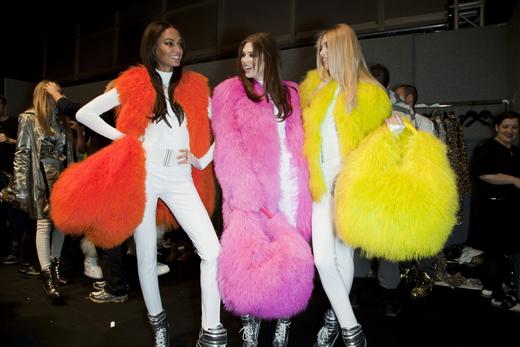 Fur Color fashion trend 2013