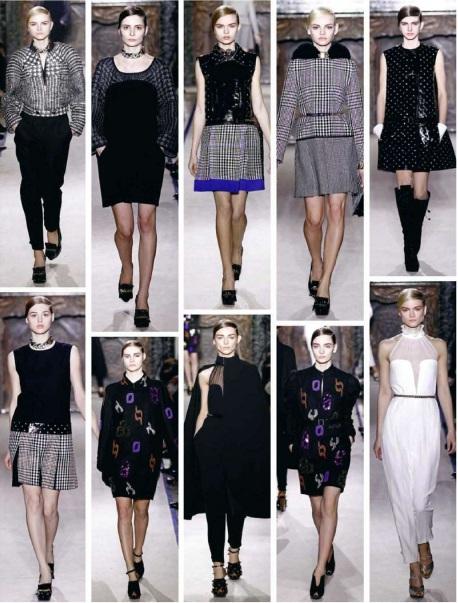 Fashion Collection Autumn 2012 in Paris