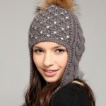winter hats for women with long hair