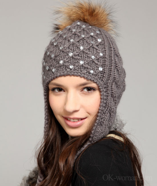 winter hats for with hairwinter hats for