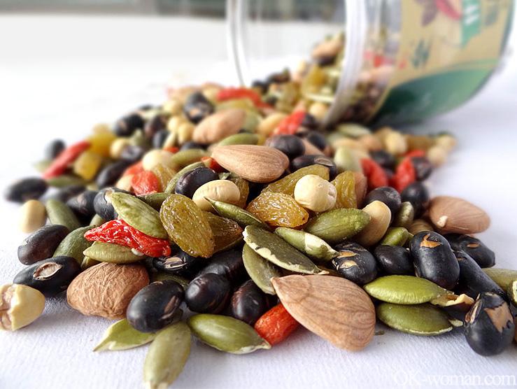 Nutritious snacks, healthy snacks