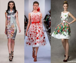 Floral And Oriental Spring Summer 2013