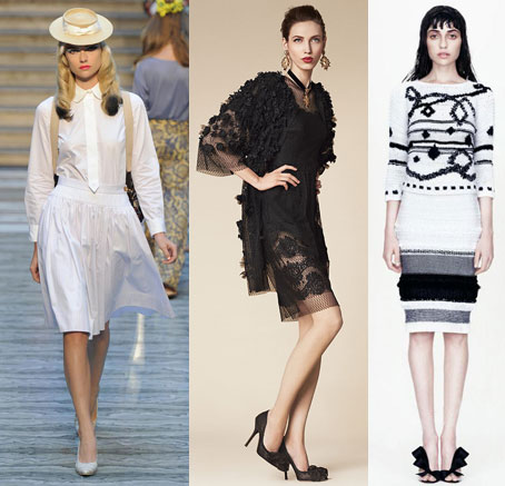 Monochrome trends ss 2013