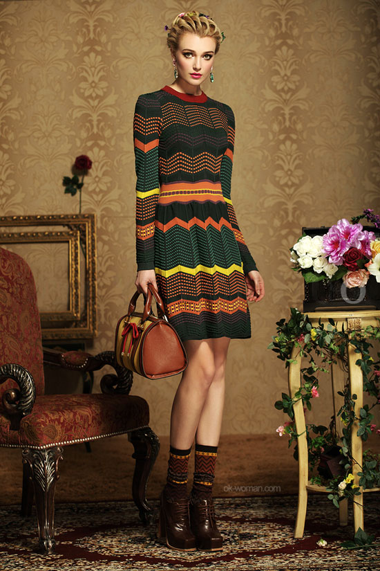 spring vintage clothing style, knitted item