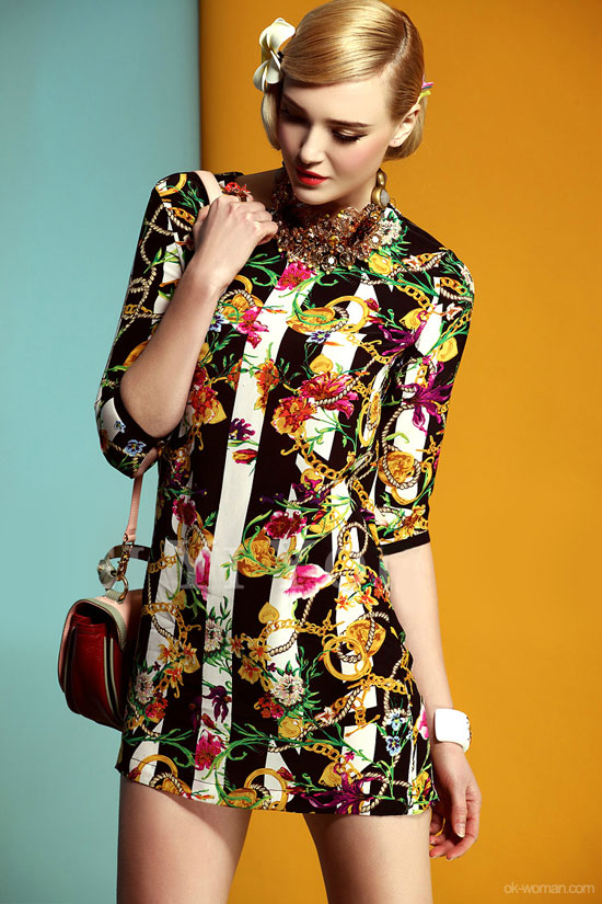 spring vintage clothing style