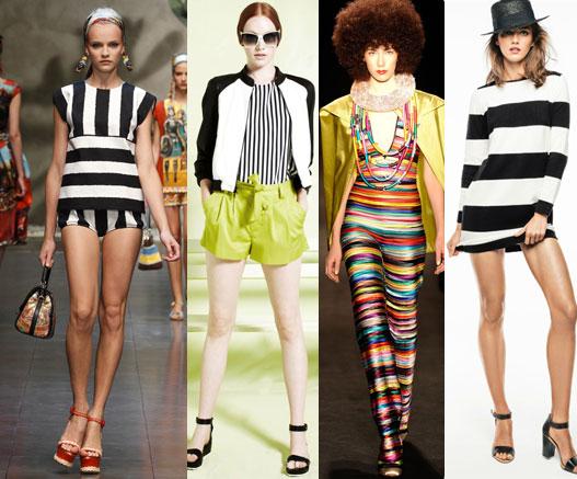 Топ тенденции моды весна лето 2013, что модно этой весной полосы