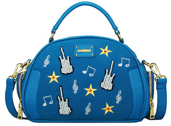 Модная синяя сумочка для девушки