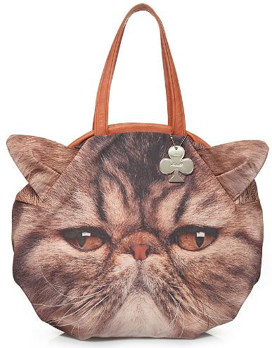 Модная женская сумка кот, сумка с котом