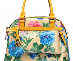 cool flowers bag