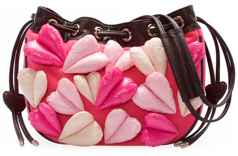 cute bag with hearts for girls