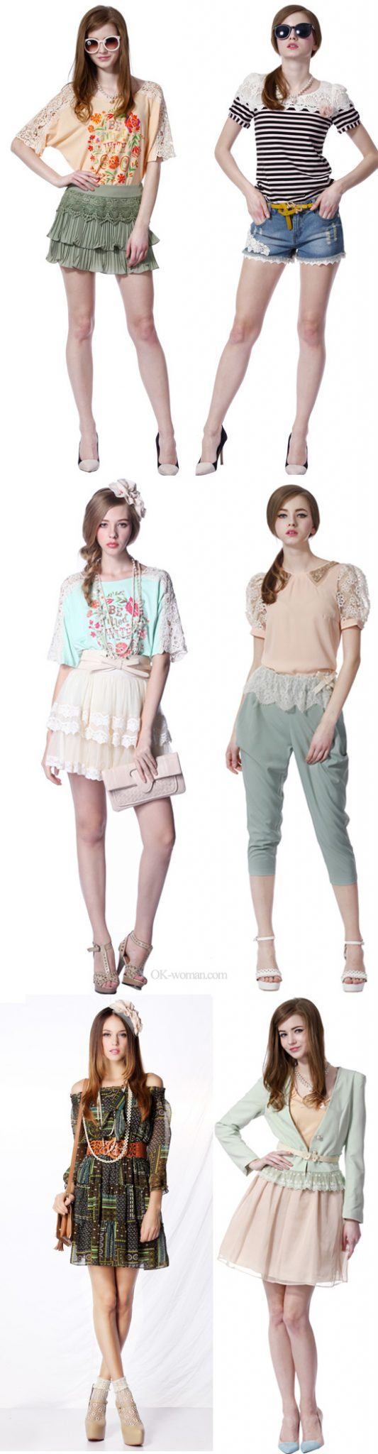 romantic style clothing 2014 ss