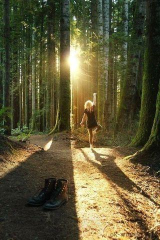 woman forest woman forest