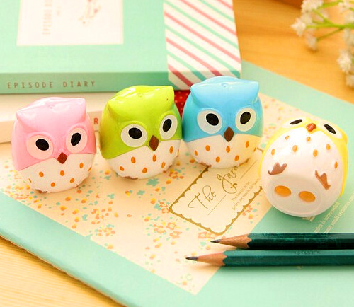 Owl Pencil Sharpener Cutter Knife Promotional Gift Stationery