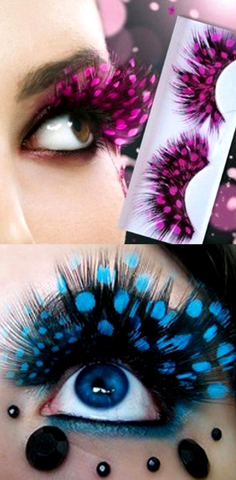 Feather False Eyelashes