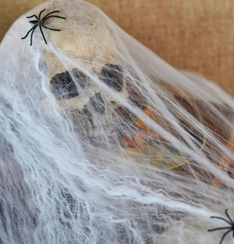 Hot New Funny Stretchable Plastic SPIDER WEB Cotton Party Decoration for Halloween Bar Scene Props