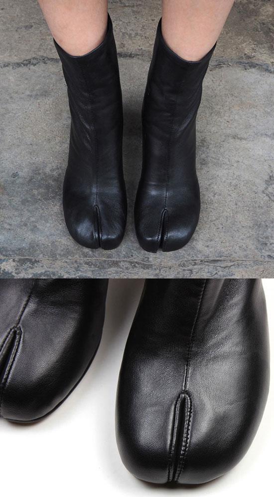 Ninja leather shoes