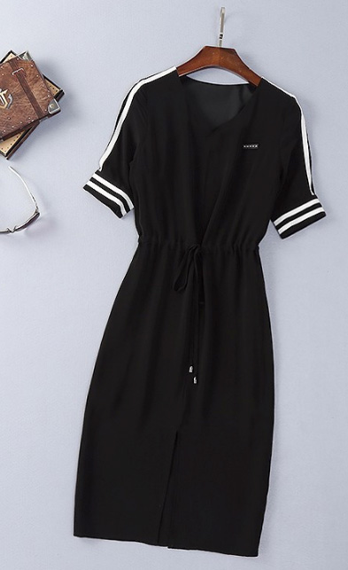 Sporty Dress Silk Cotton