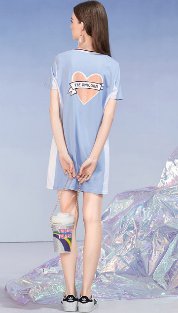 Sporty Dress Young Women