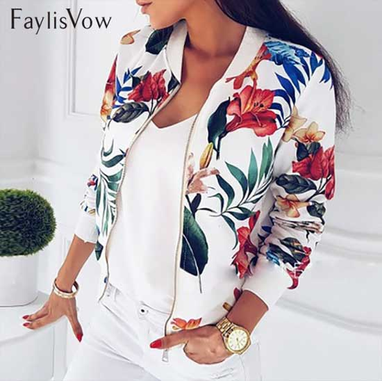 Buy floral jacket women and get free shipping on AliExpress.com