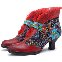 Multi-Color Vintage Shoes for Women