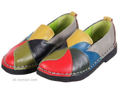 Soft leather shoe