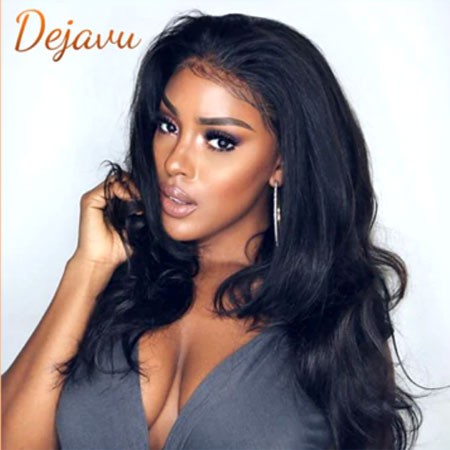 Body Wave Lace Front Human Hair Wigs Remy Peruvian Hair Body Wave Wig 150% Density 13X4 Lace Front Wigs For Black Women